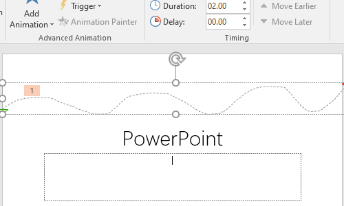 How to Customize the Motion Path for Specific Text in PowerPoint