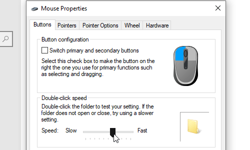 How to Adjust the Sensitivity of You Mouse Pointer in Windows 10