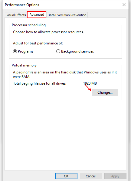 How to Change the Virtual Memory of Your Computer in Windows 10