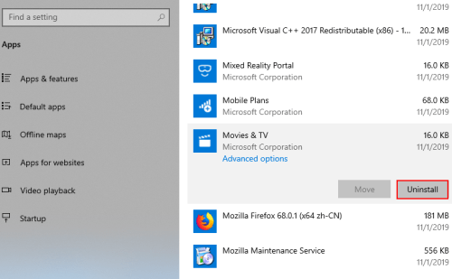How to Repair or Uninstall Apps in Windows 10