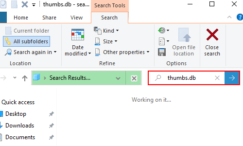 How to Delete the Hidden Thumbs.db Files in Windows 10