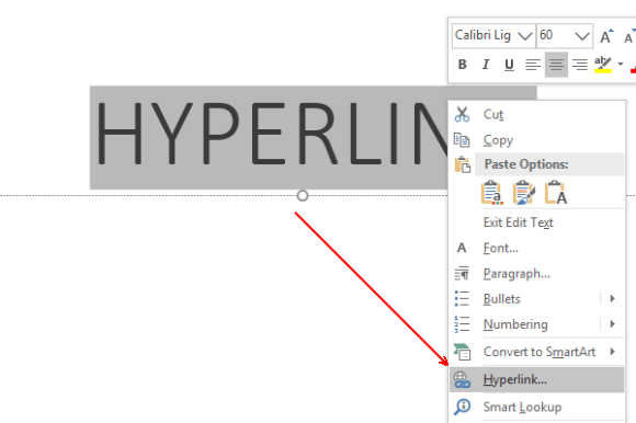 How to Insert Hyperlinks in Microsoft PowerPoint Slides
