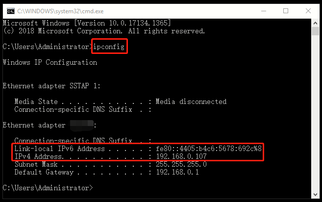 How to Find IP Address of Your Windows 10 PC