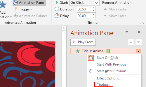 How to Loop an Animation Effect in Microsoft PowerPoint