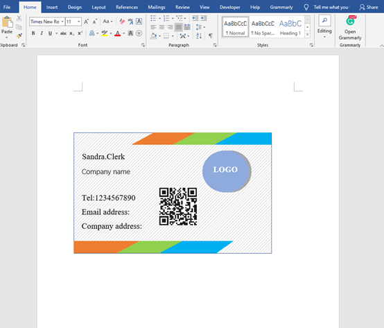 How to Make Business Cards in Microsoft Word?