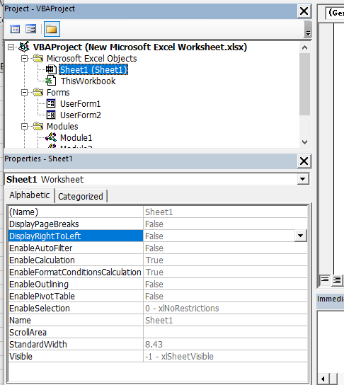 Use the VBA Editor in Excel