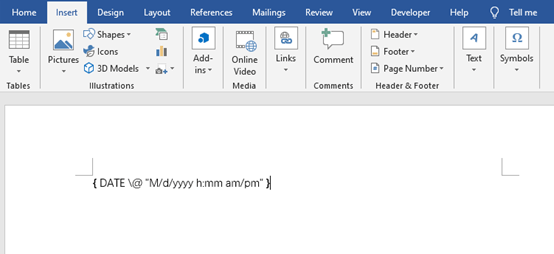 Take You to Know Field in Microsoft Word