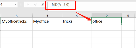 How To Extract Specific Substring In Microsoft Excel