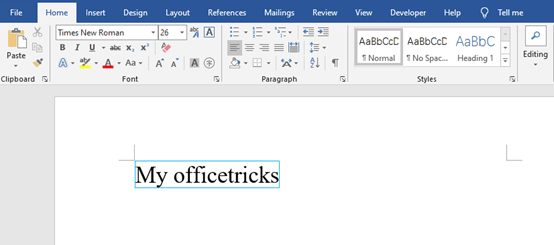 How to Put a Colorful Border Around Text in a Microsoft Word