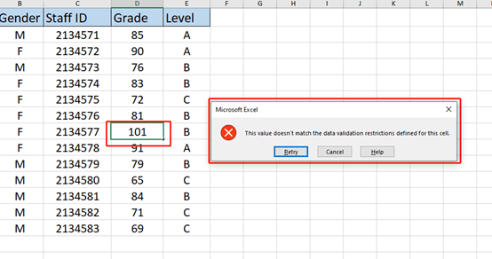 How to Use Data Validation for Entering Dates in Excel