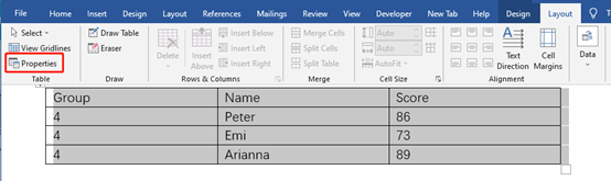 How To Adjust The Width And Height Of All Tables In A Word Document?