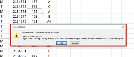 How To Print Only A Selected Area In Microsoft Excel