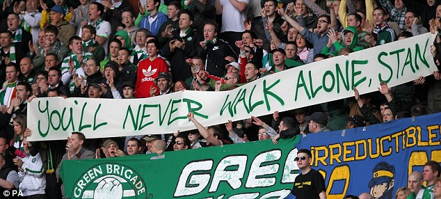 Celtic Stiliyan Petrov banner