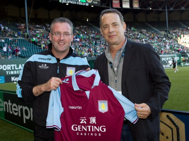 tom hanks aston villa