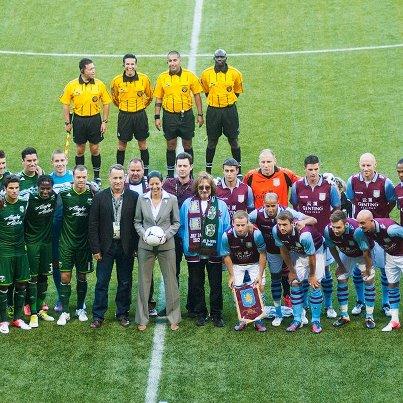 Tom Hanks Geezer Butler Aston Villa team