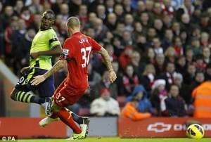 The Benteke backheel
