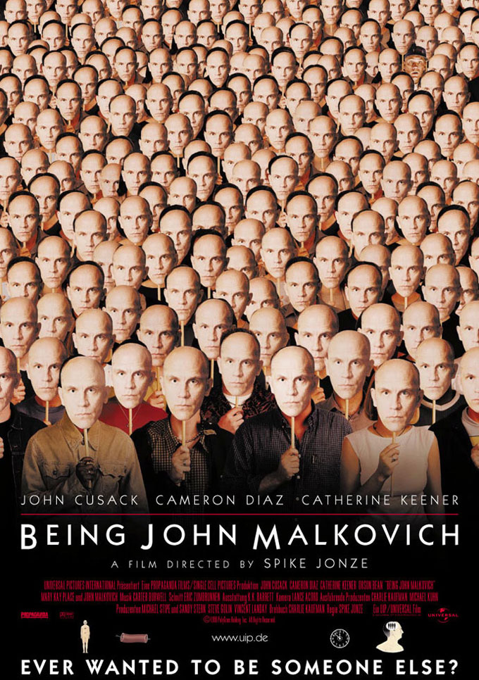 Stiliyan Petrov Masks Being john Malkovich