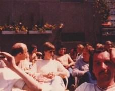 Villa Fans Bask in the Sun - Rotterdam 1982
