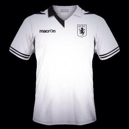 Aston Villa away kit 2013