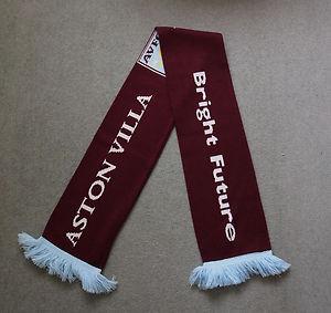 Aston Villa bright future scarf
