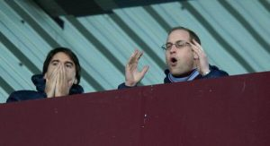 prince william visits villa park