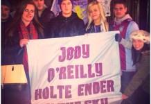 jody oreilly memorial banner