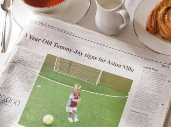 New talent Tommy-Jay signs for Aston Villa