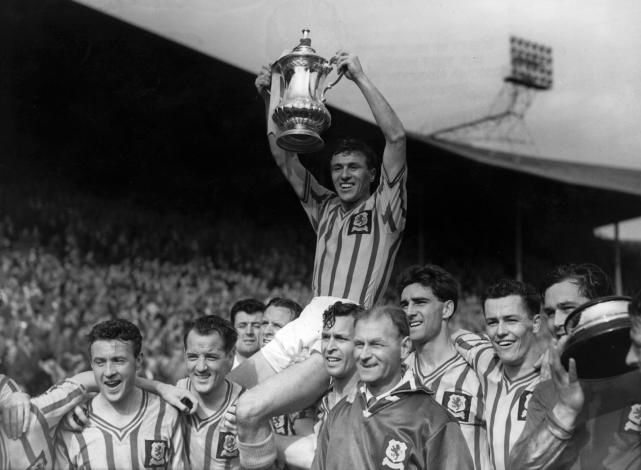 Aston Villa FA Cup 1957 shirt