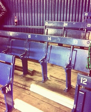 goodison wooden seats