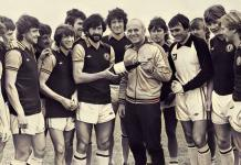 aston villa team with Ron Saunders 1980/81