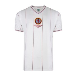 Aston Villa 82 Euro Cup Final Shirt