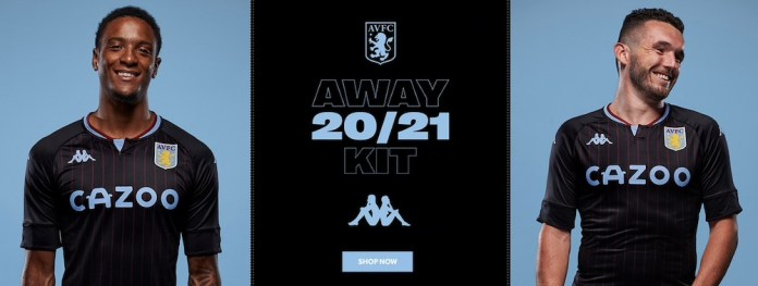 New Aston Villa Shirt 2021