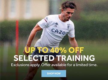 Aston Villa Training Sale