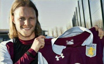 Birkir Bjarnarson Aston Villa