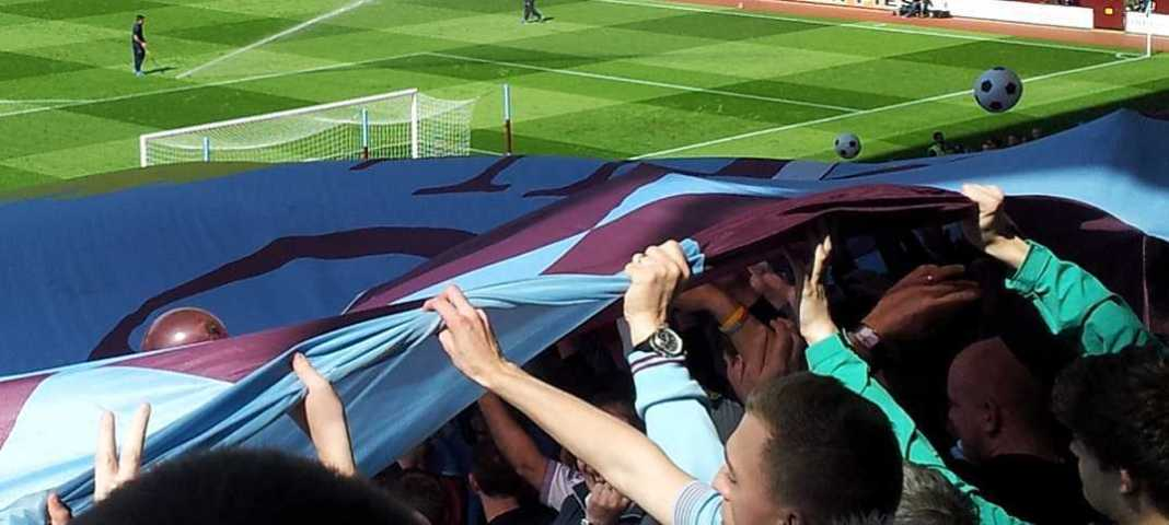 holte end flag surfer