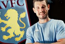 Jed Steer Aston Villa number one