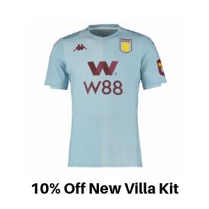 Aston Villa Away kit discount
