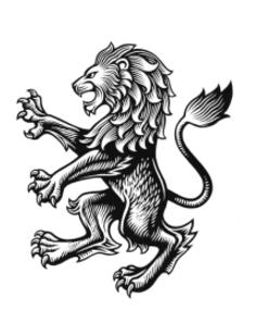 Aston villa lion design