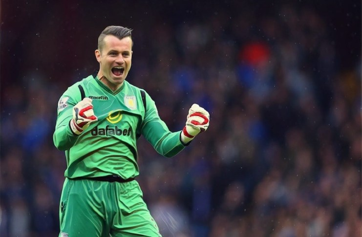Shay Given Interview Aston Villa
