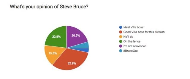 Steve Bruce Fan Opinion