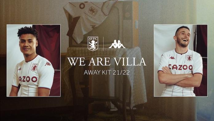 New Aston Villa Away Kit 2022