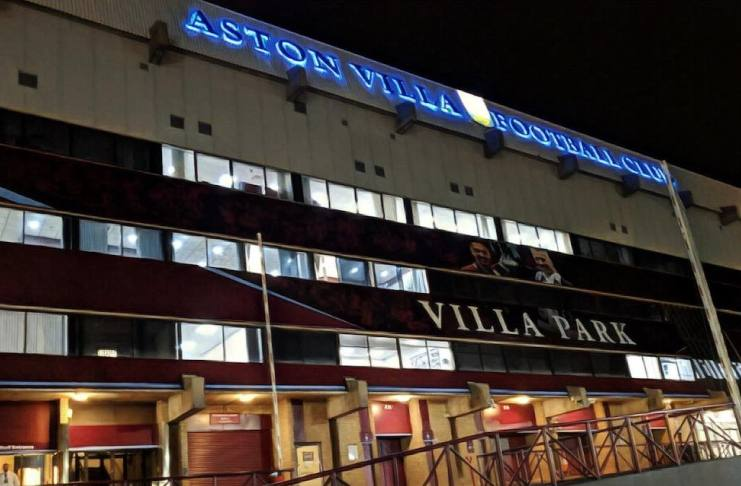 Villa Park Night time