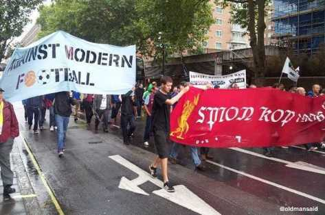 Villa & Liverpool banner power