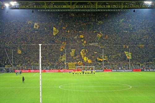 yellow wall dortmund