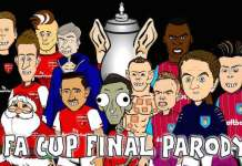 Villa fa cup final cartoon