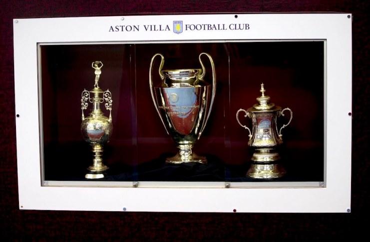 aston villa trophies European Cup FA Cup Championship