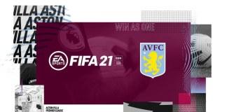 aston villa fifa 21 cover