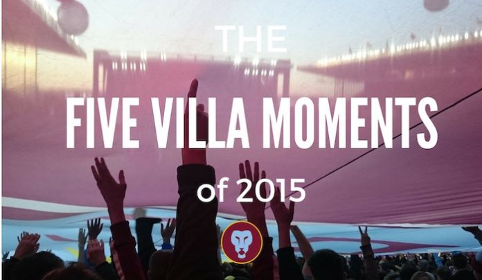 FIVE VILLA MOMENTS