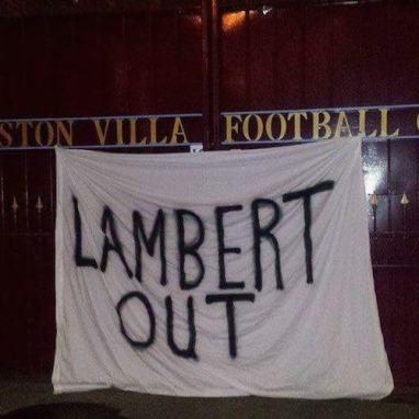 lambert out villa park gates
