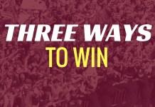 three ways villa win